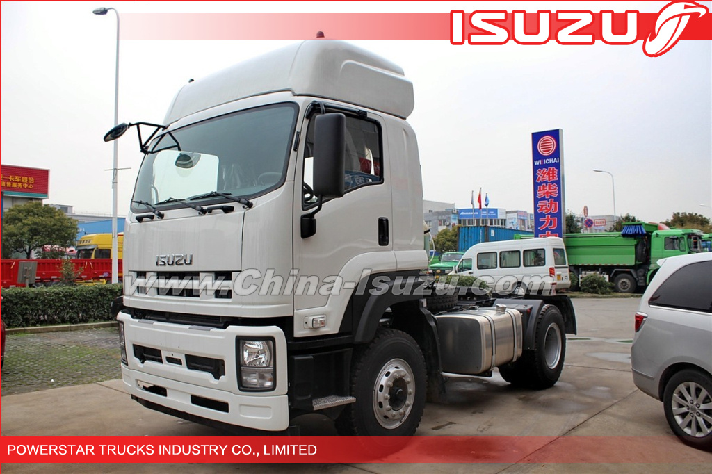 4x2 350HP ISUZU VC46 Heavy duty Trucks Tractor Prime Mover