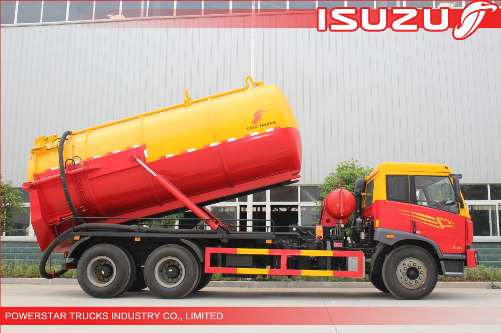 18,000Liter Congo Heavy duty Vacuum Loader Vehicle Isuzu