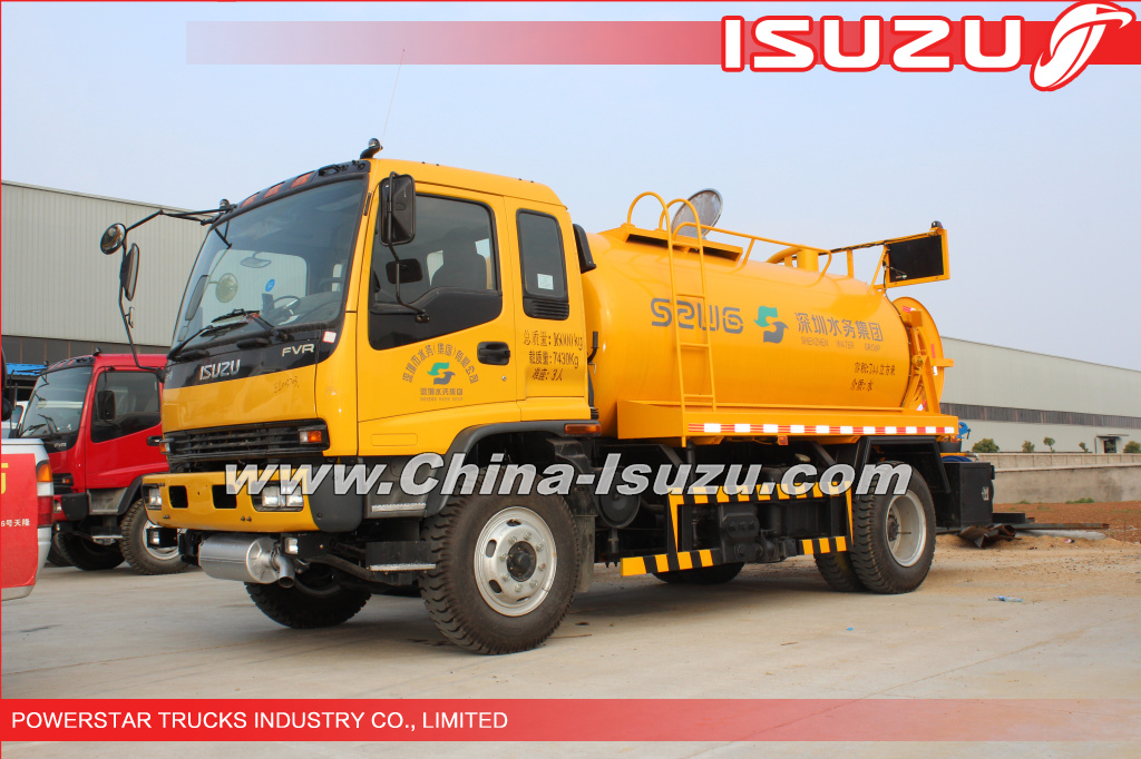 14,000L HIGH-PRESSURE CLEANER, SEWER FLUSHING TRUCK