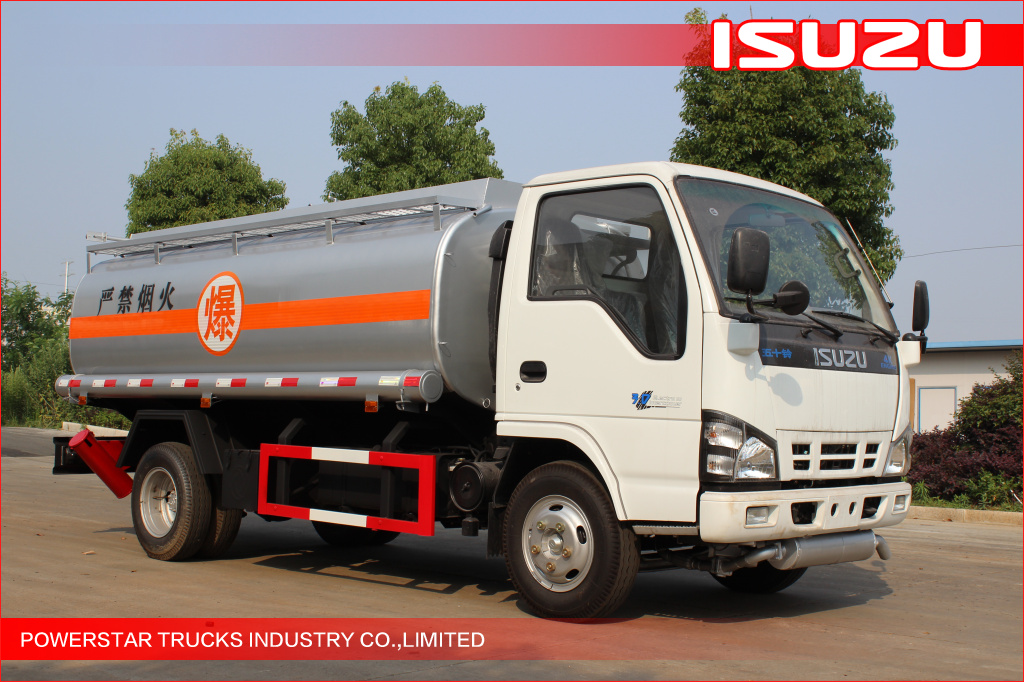 5000L Isuzu NKR55 600P Fuel Oil Tanker trucks