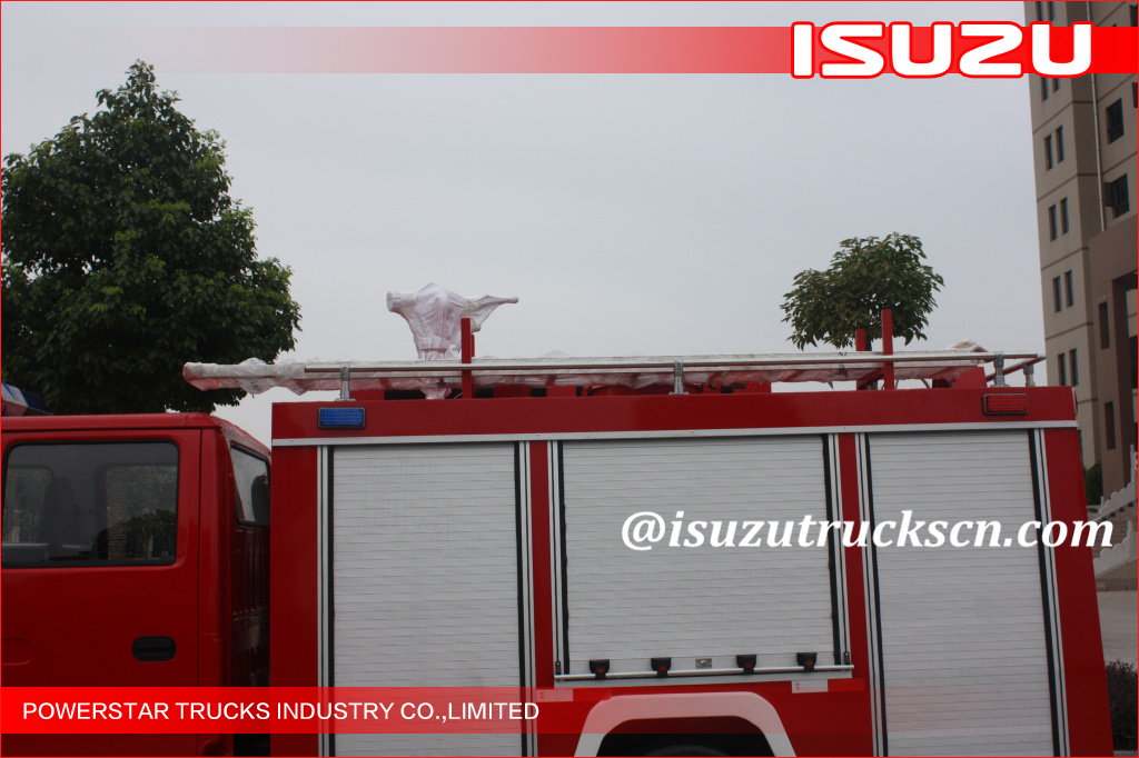 Isuzu NKR77 Fire Rescue Vehicle Delivery to Philippines
