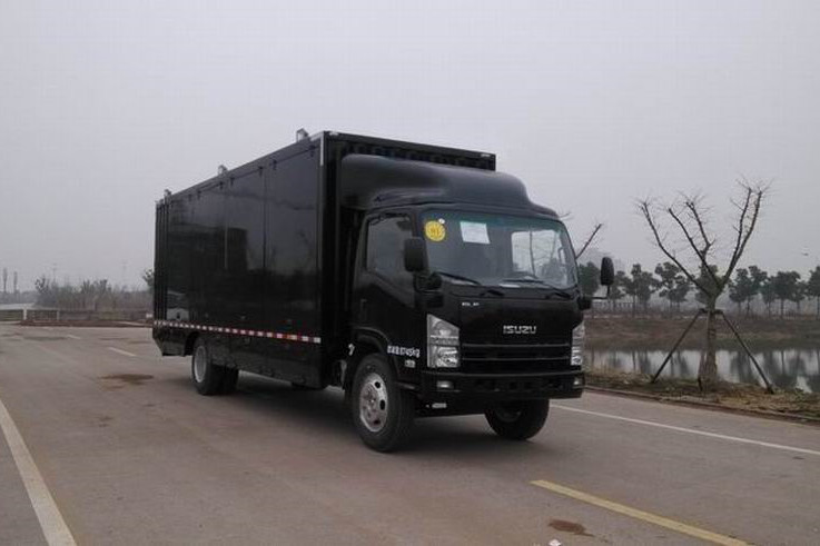 City ELF ISUZU cargo Delivery Van truck