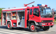 Isuzu fire trucks