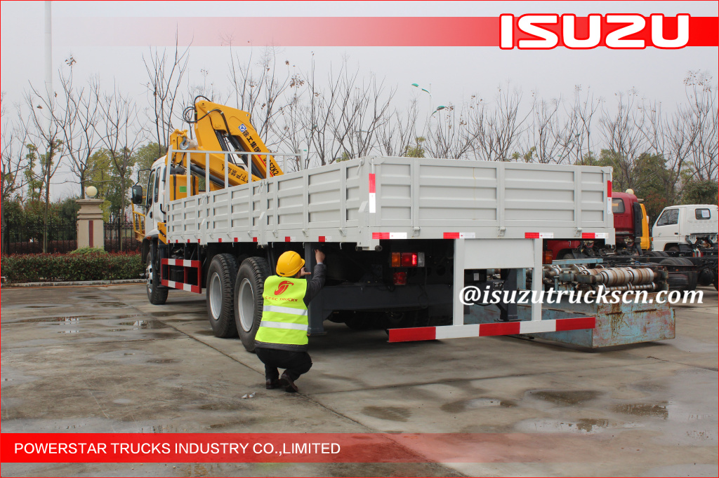 Isuzu Telescoping Boom Mobile Crane With 6300kg