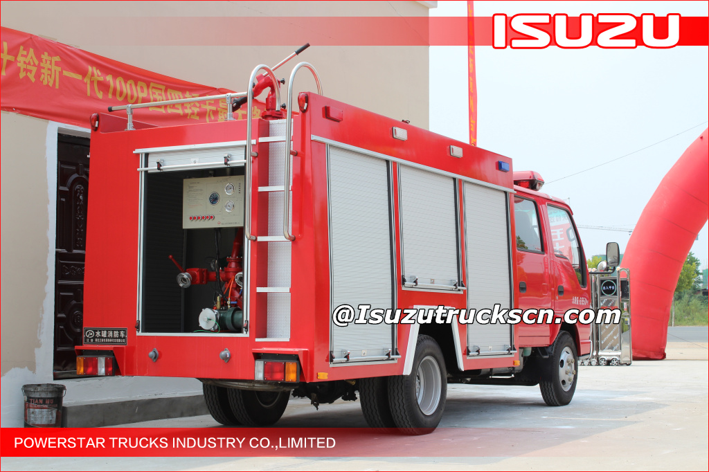 2000L New ISUZU ELF FIRE ENGINE truck FIRE Vehicle