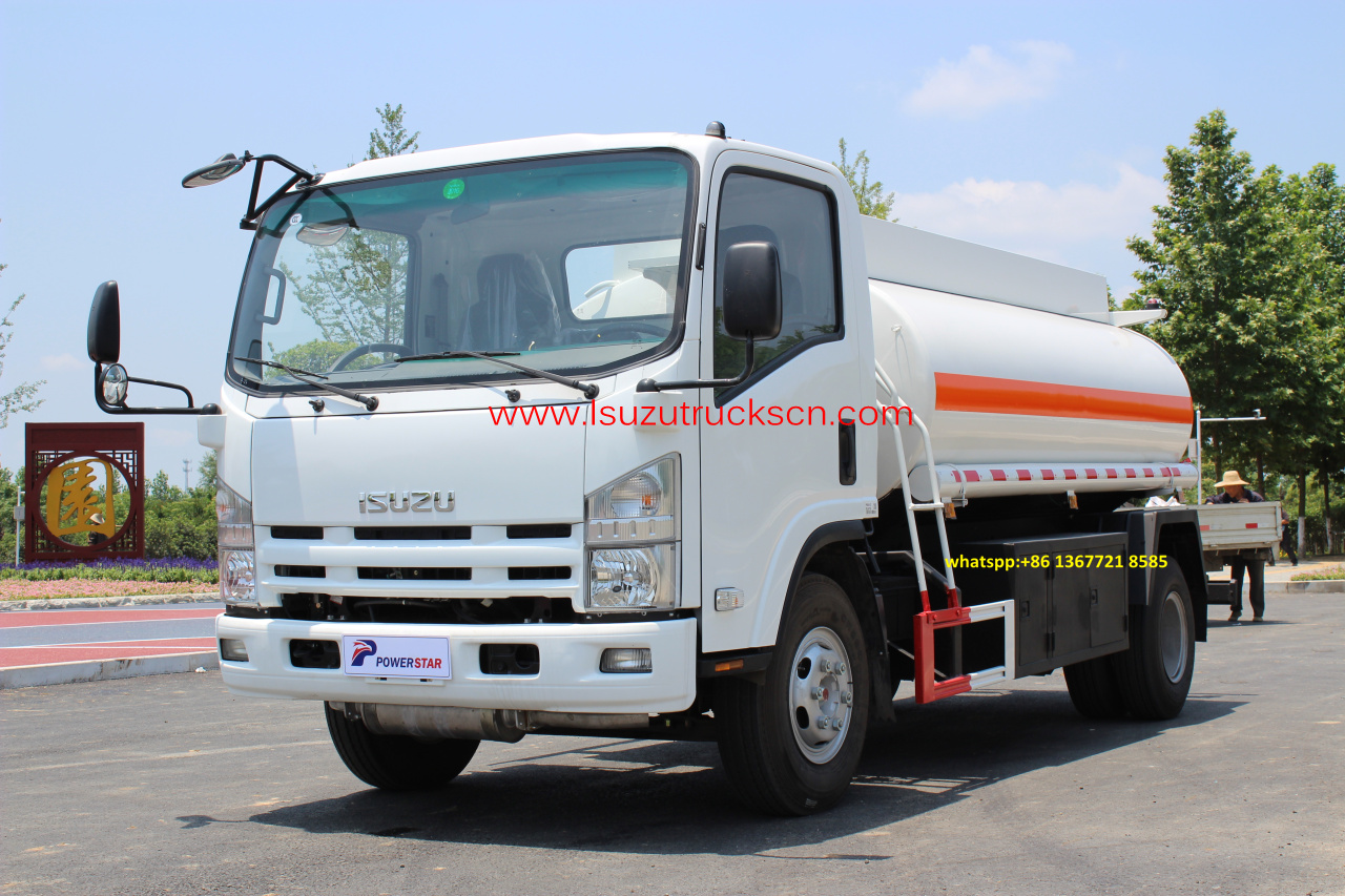 8,000L Isuzu Fuel Bowser trucks