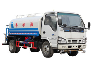 Isuzu ELF water fire fighting trucks