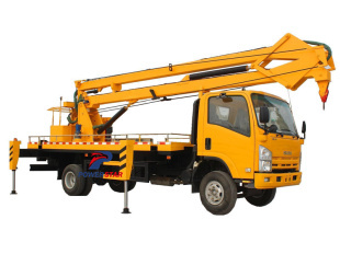 Japan 16Meters Isuzu Aerial plaftform trucks