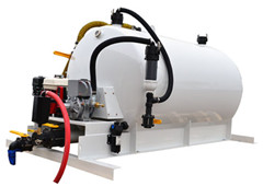 Vacuum Tank kit for Isuzu sewage tanker trucks shipment by container