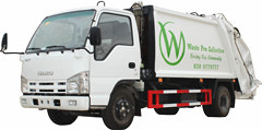Compression Garbage Truck Isuzu 4cbm