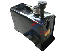 Hydraulic oil tank for sweeper truck