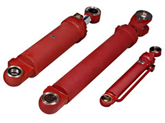 hydraulic cylinder for street sweeper truck