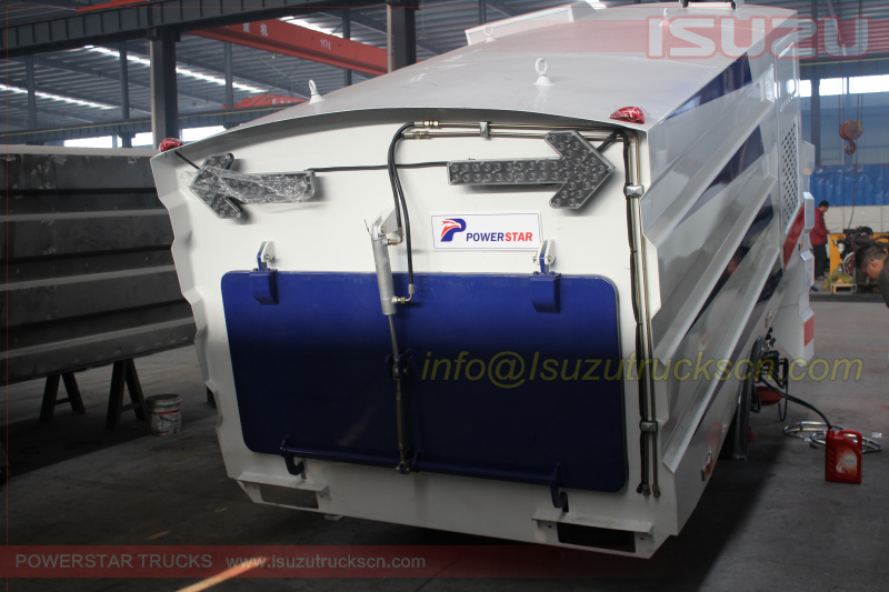 pictures for Dustbin Sweeper Super Structure