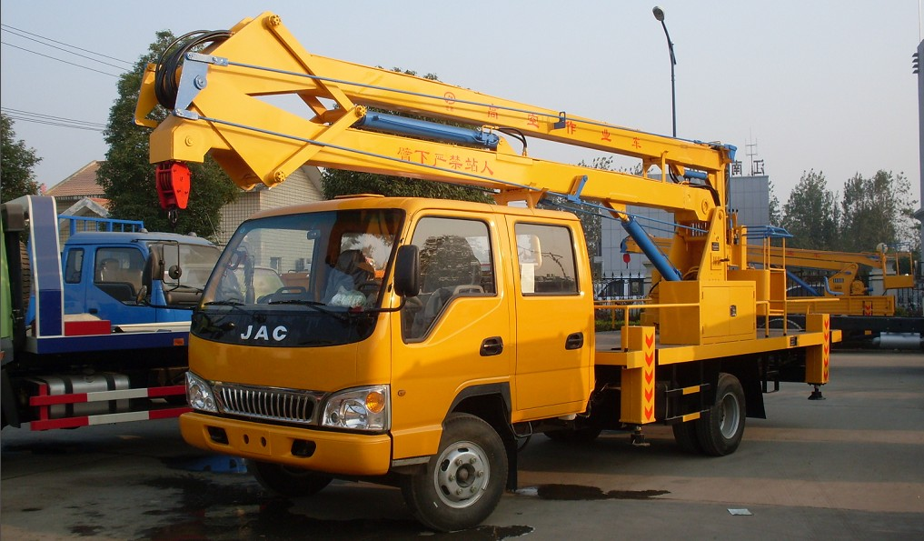 16m Aerial lift and Bucket Truck JAC