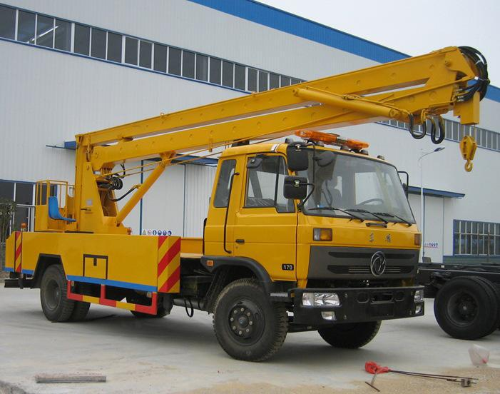 Hydraulic Aerial Platform Truck Dongfeng