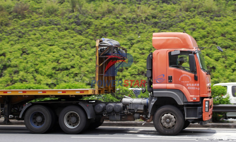 10 wheel heavy truck Isuzu tractors truck with tow tractors for sale