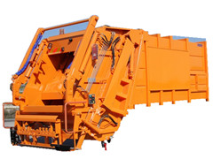 Factory rubbish compactor truck super structure for sale