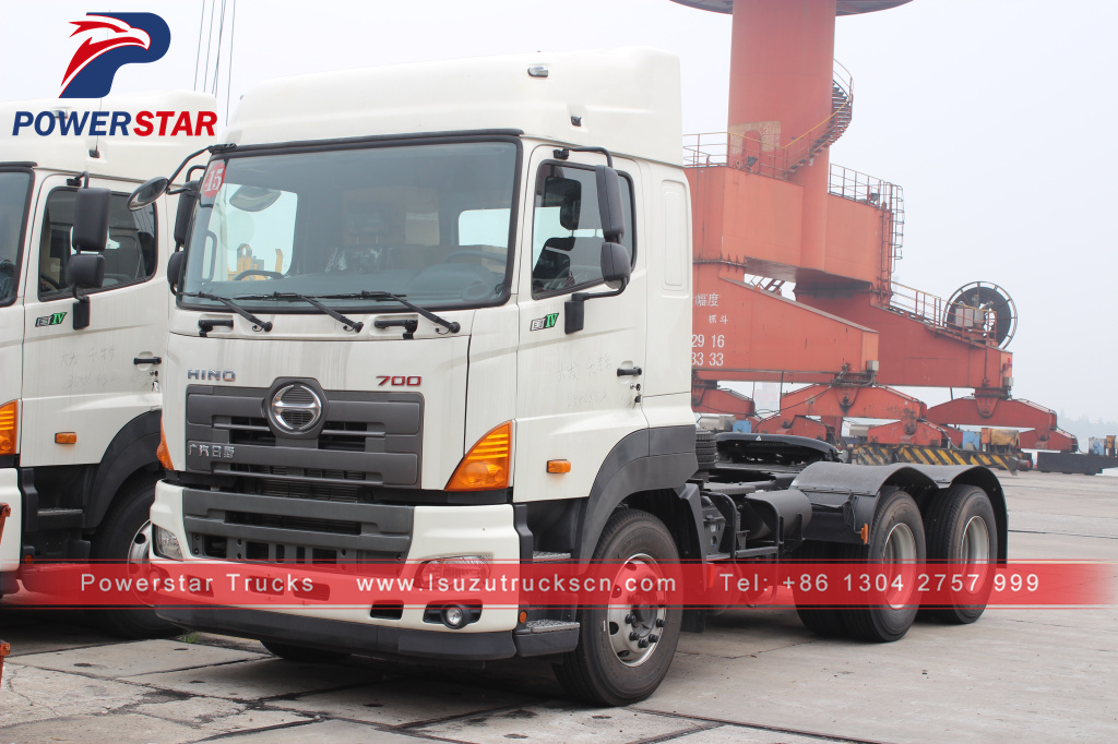 GAC HINO tractor truck Hino 700 prime mover with 380hp power