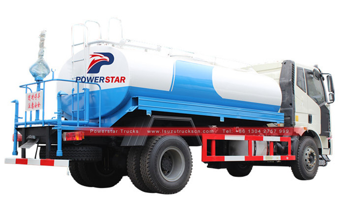 Water bowser trucks Isuzu FTR water tanker trucks