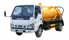 Sewage suction tank trucks Isuzu 3,000 L