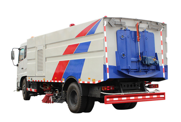 City road Runway sweeper truck made by Powerstar trucks