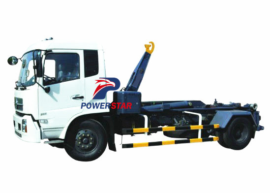 Arm hook lift truck