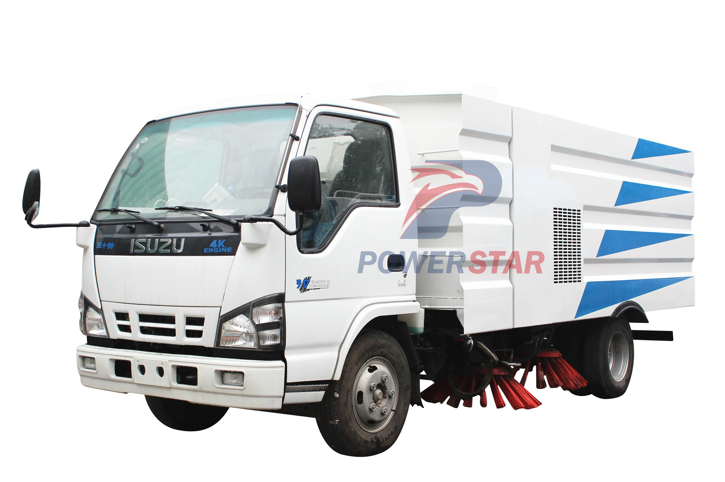 picture for Dustbin Road Sweeper Truck Isuzu 5m3
