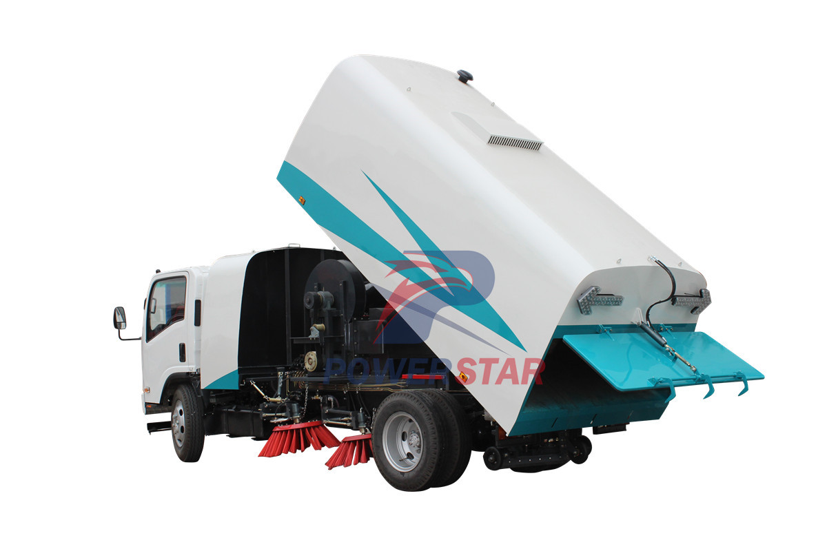 Environment road sweeper Isuzu 8m3