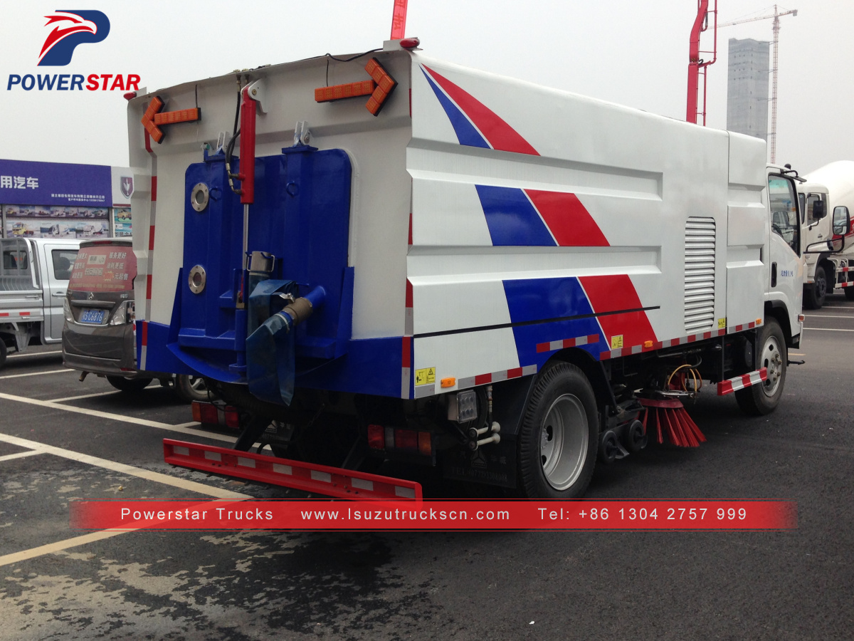 Combodia Isuzu brand Street Sweeper and Washer suppliers