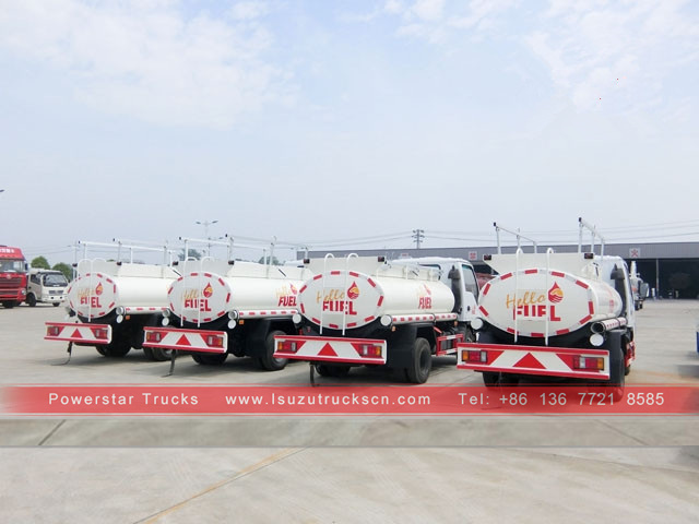 Somalia Isuzu Oil Tank Transport/ Fuel Tanker Truck Capacity FOR Sale