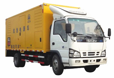 Japan 4x2 mobile emergency power supply truck isuzu