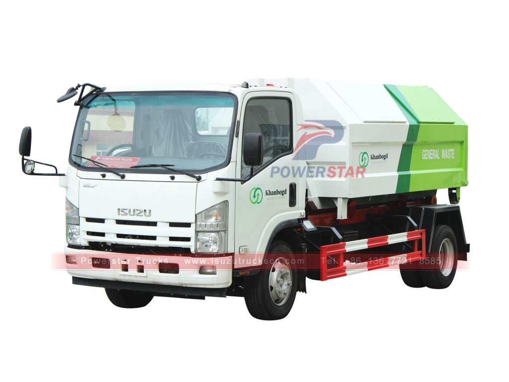 ISUZU Hook arm garbage truck