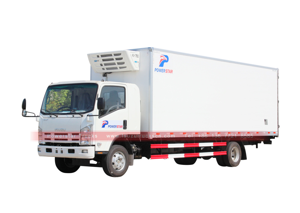 Isuzu Freezer Trucks