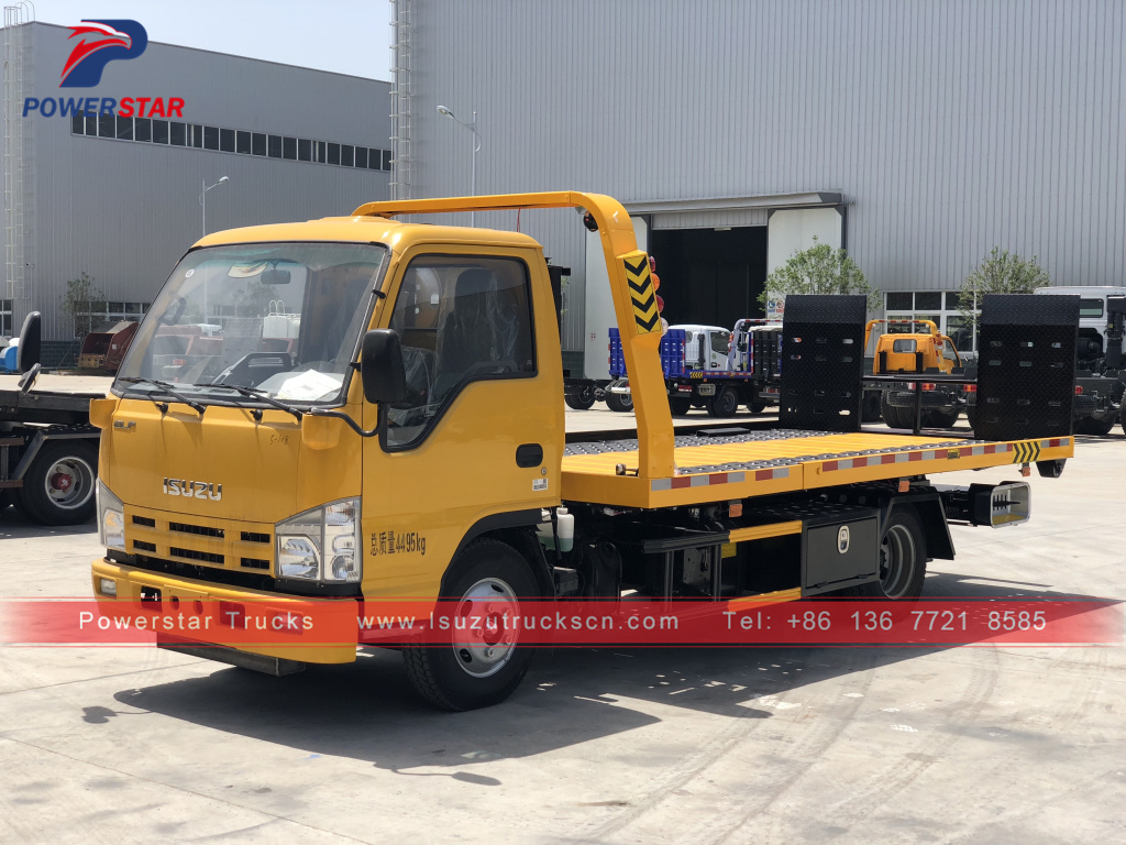 Philippines Isuzu Breakdown Recovery Truck Vehicle