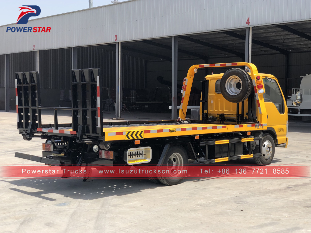 philippines 3Tons Isuzu Road Wrecker Truck for sale