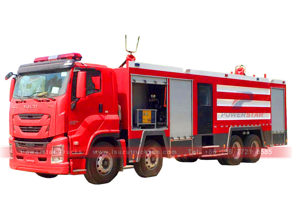Brand new Customer made ISUZU GIGA Water/foam/dry powder Fire Engine Trucks