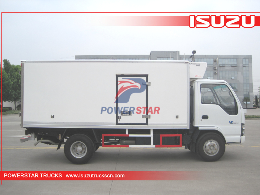 ISUZU 3 Ton Refrigerated Truck with cooling system Freezer