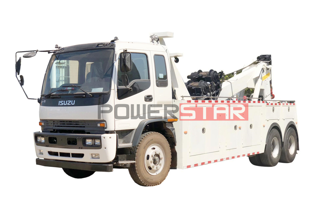 Recovery Wrecker Truck ISUZU Rescue Towing Vehicle