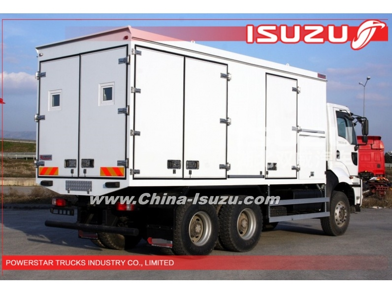 japanese Manufacturer of Isuzu Mobile Workshops & Wagon Trucks 6x6