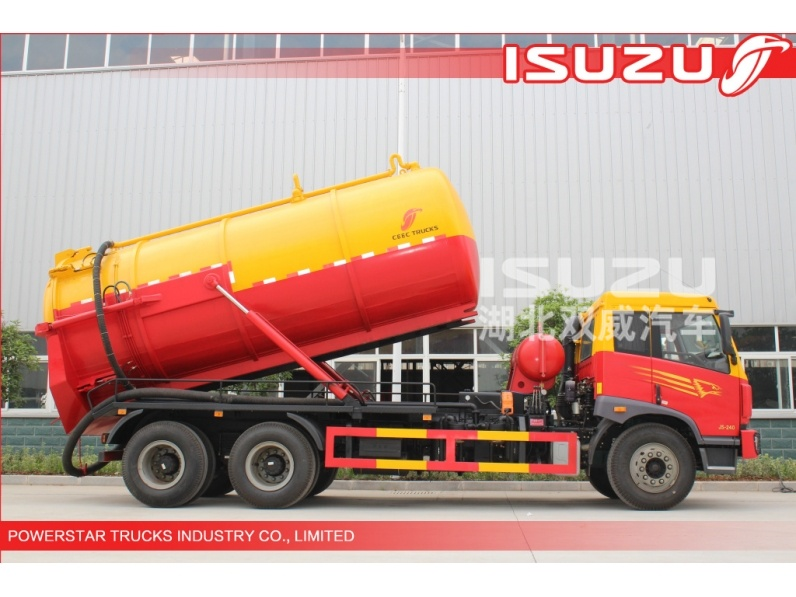 14,000Liter Isuzu Truck Mounted Vacuum Suction Truck  new 18,000Liter Isuzu Truck Mounted Vacuum Suction Truck