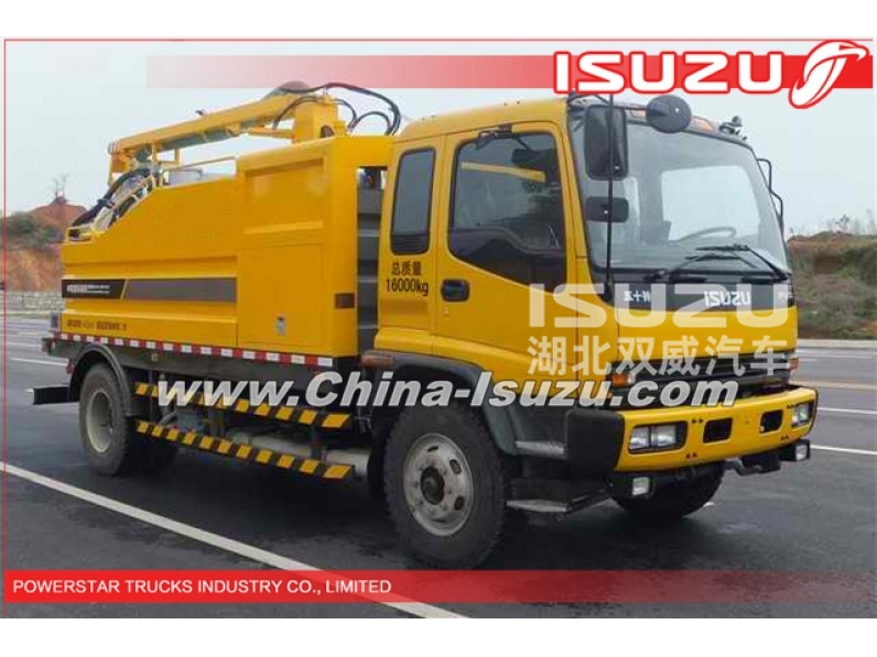 6WHEELS 10,000L Isuzu High pressure industrial cleaning Vehicle