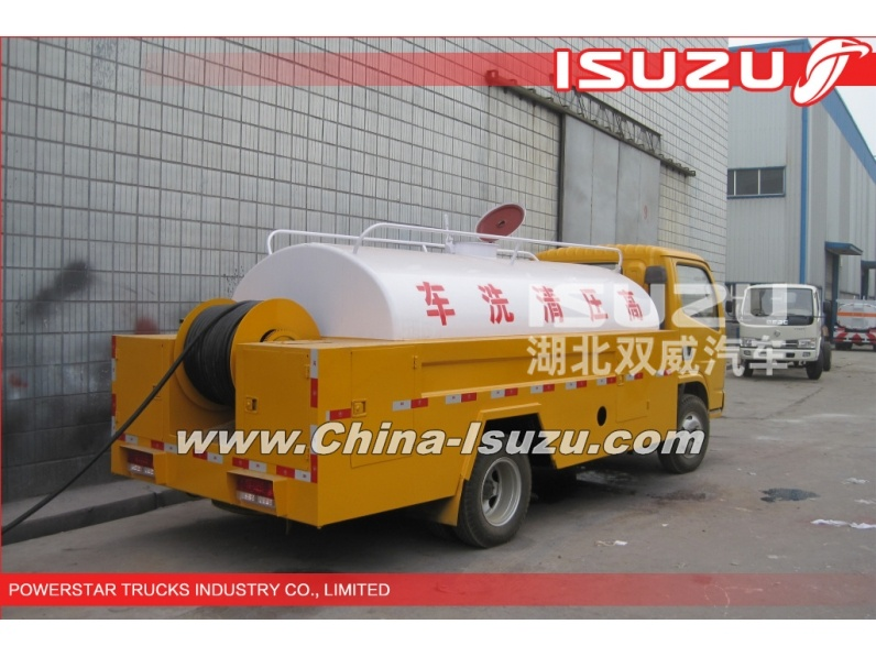 Japanese 3000L Isuzu high pressure sewer jetting truck for sale