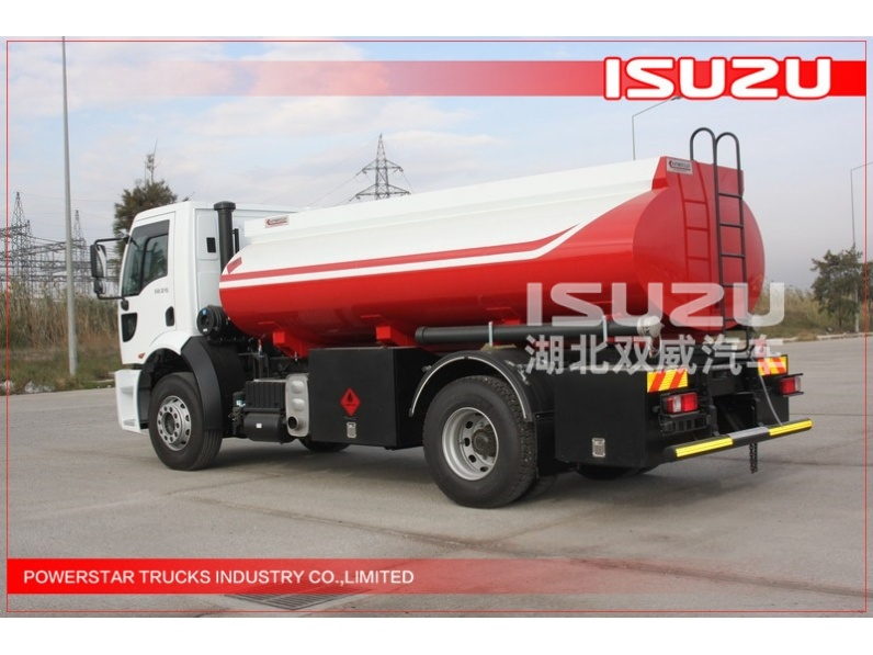 ON SALE 10000L FTR FVR Oil Tank Truck 4x2 Isuzu Liquid Tanker For Gas Stations