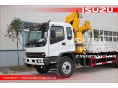 Isuzu camion avec grue, camion avec grue, camion grue 3.2T xcmg