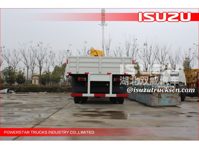 Bottom price china xcmg truck mounted crane