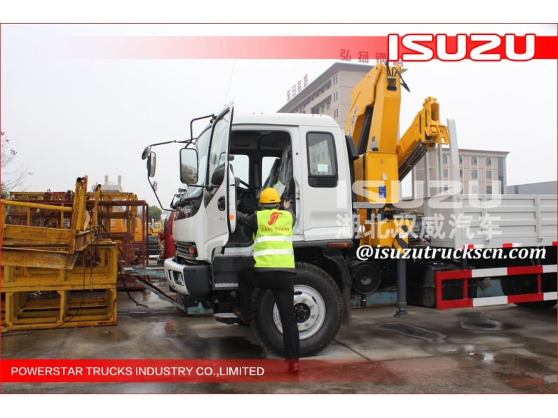 China famous brand dongfeng free card 4*2 95hp 2ton crane truck with mini truck mounted crane
