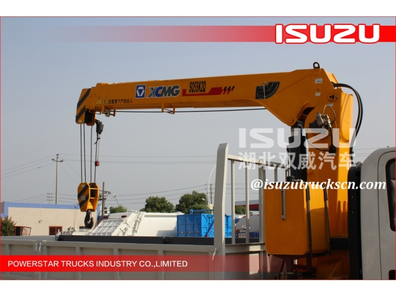 8 Ton Articulated Boom Crane