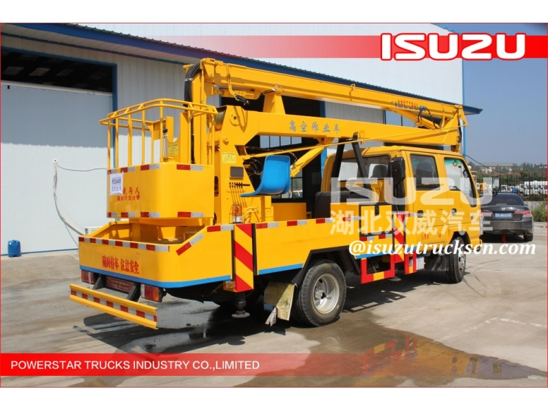 Isuzu  rotary platform and the working basket