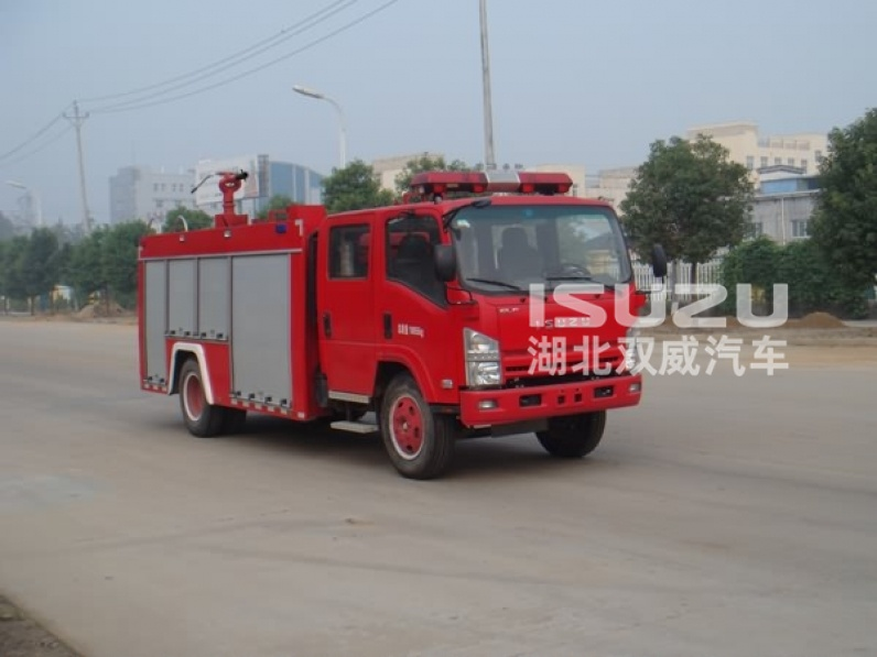 Top Quality Isuzu Foam-Water Fire Fighting Truck of 4000L capacity