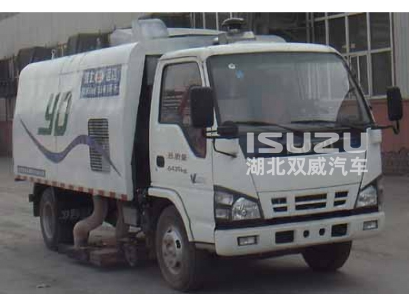 ISUzu 4x2 Chassis Road Sweeper Truck/ Off Road Truck//Suction Sweeping Vehicles